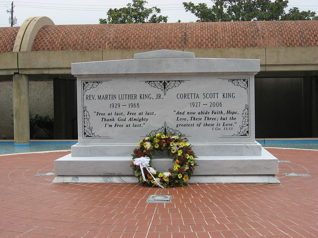 hrobka Martina Luther Kinga