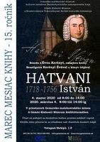 """beseda s historičkou Évou Kerényi o jej knihe """"István Hatvani (1718 – 1786)"""""""