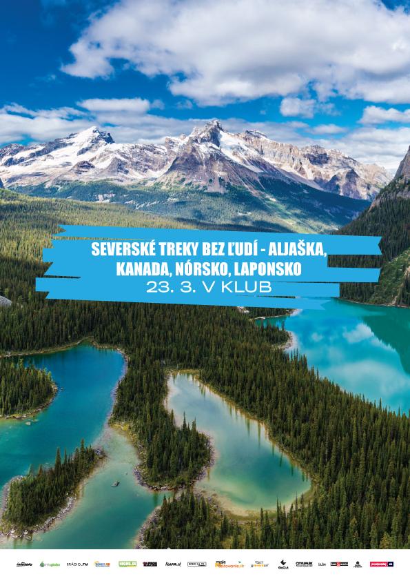 Severské treky bez ľudí – Aljaška, Kanada, Nórsko, Laponsko