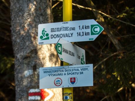 Špania dolina - turistika v okolí