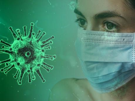 Koronavírus (pixabay.com) - ilustračné foto