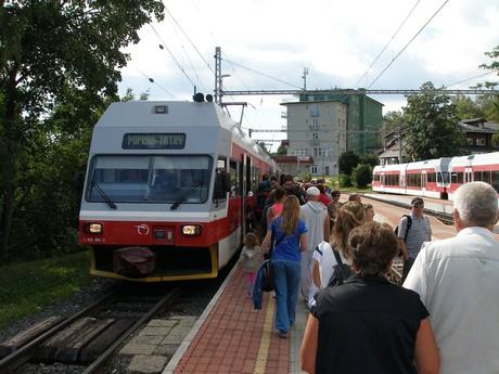 Vysoké Tatry (železnica) - ilustračné foto