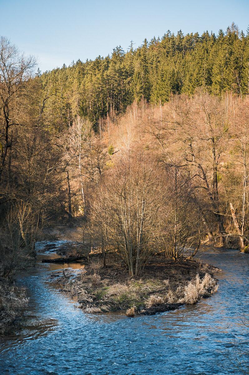 výhľad na rieku