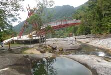 водопады Телага-Туджу и смотровая площадка