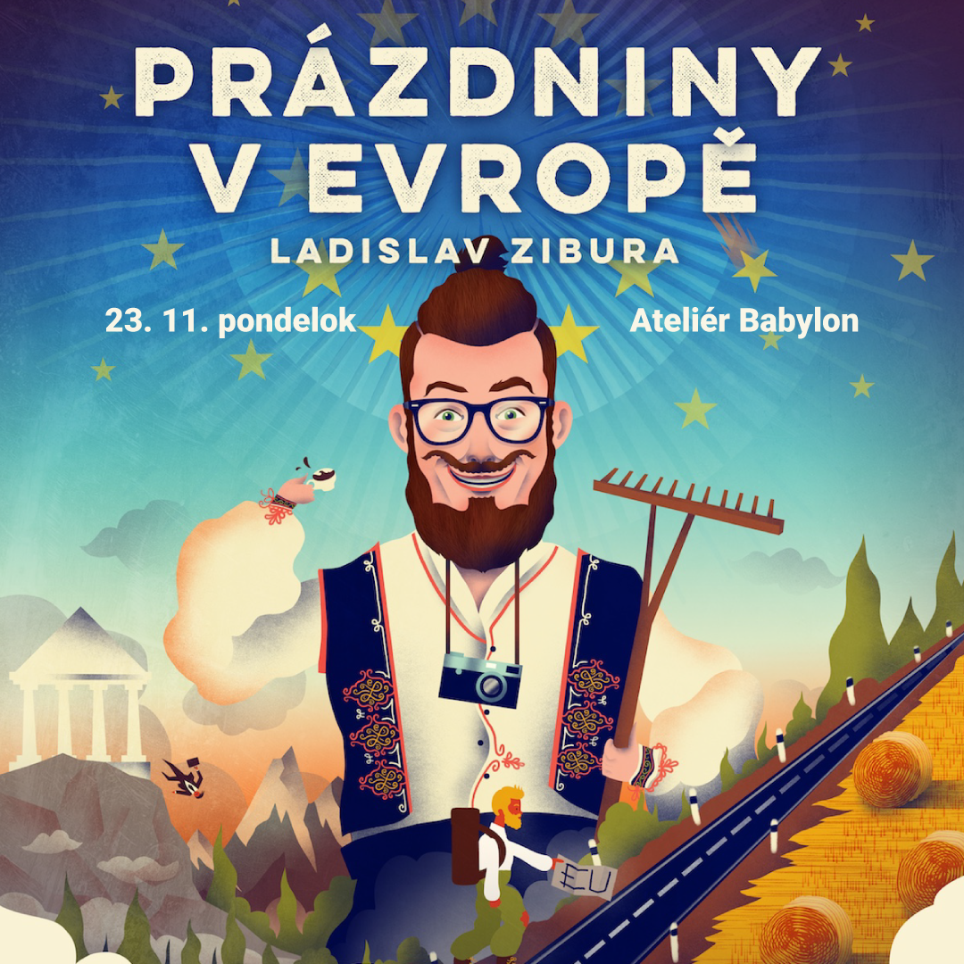 Ladislav Zibura – Prázdniny v Európe