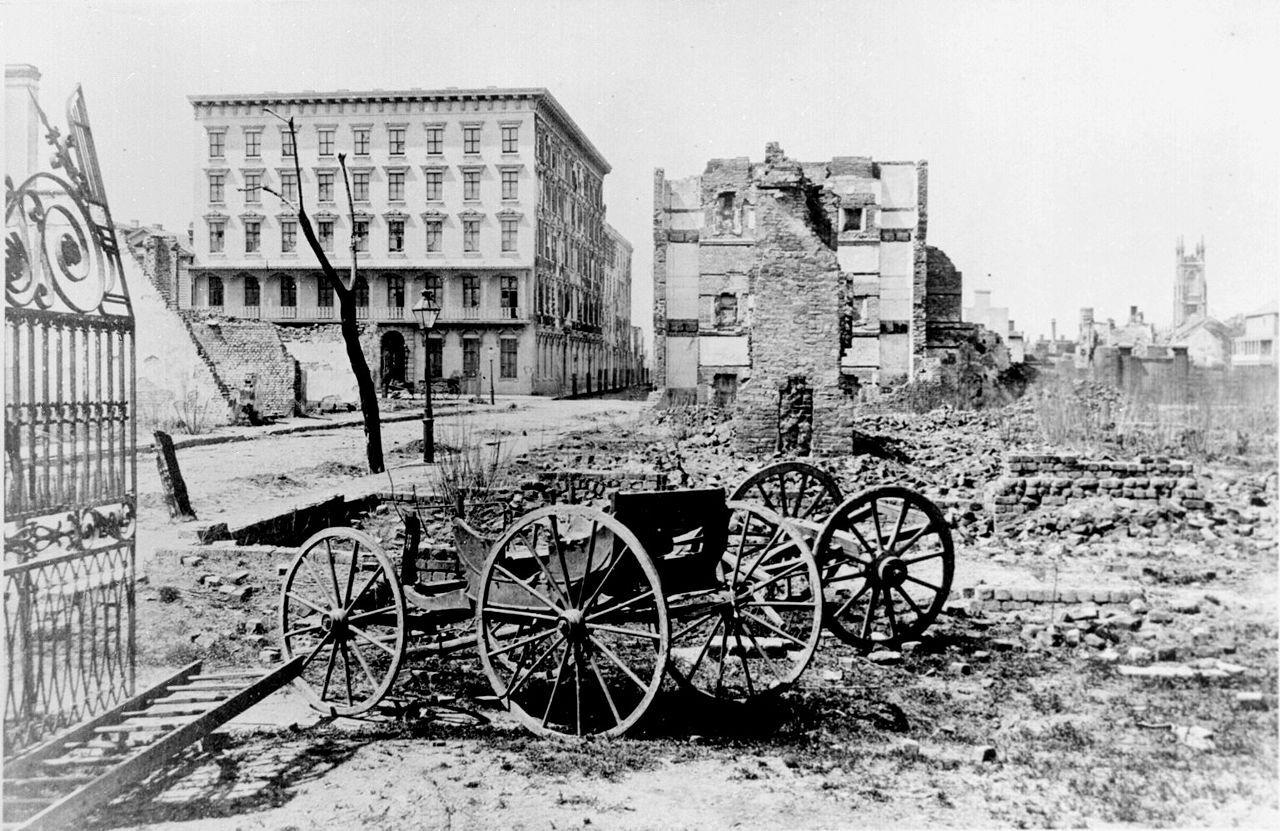 Чарльстон после гражданской войны
