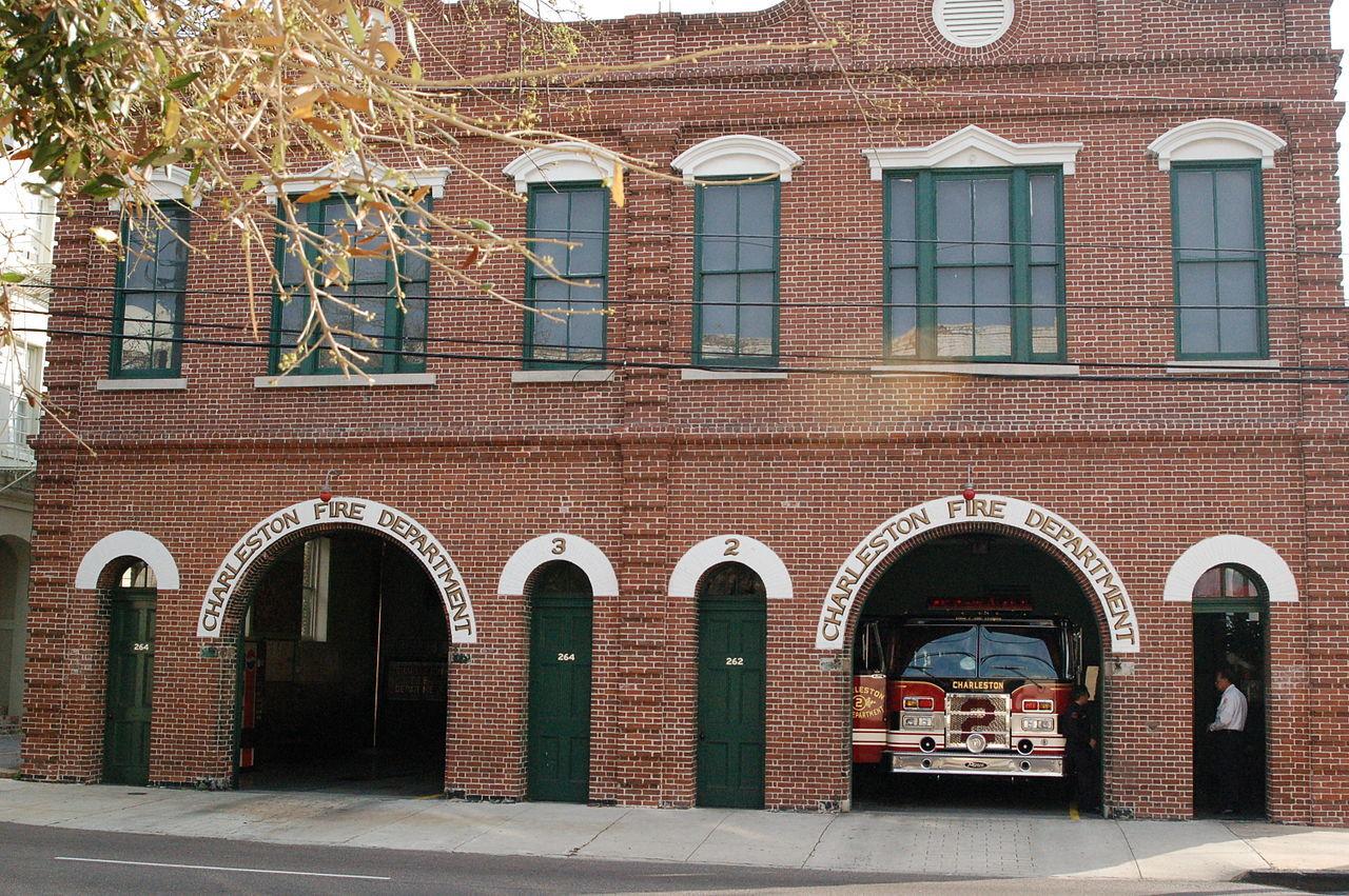 пожарная станция в Чарльстоне