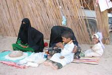 beduínky s deťmi