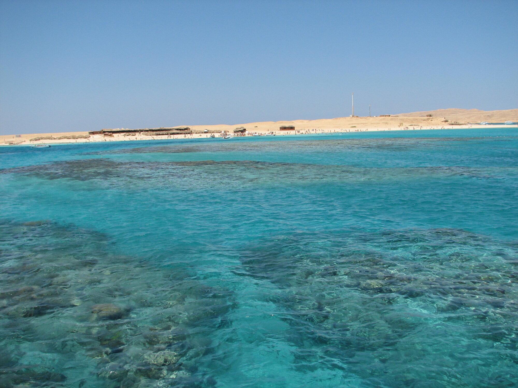 koraly pri Giftune