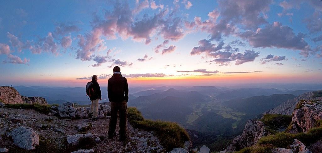Schneeberg s těmi nejlepšími, (c) Wiener Alpen / Franz Zwickl