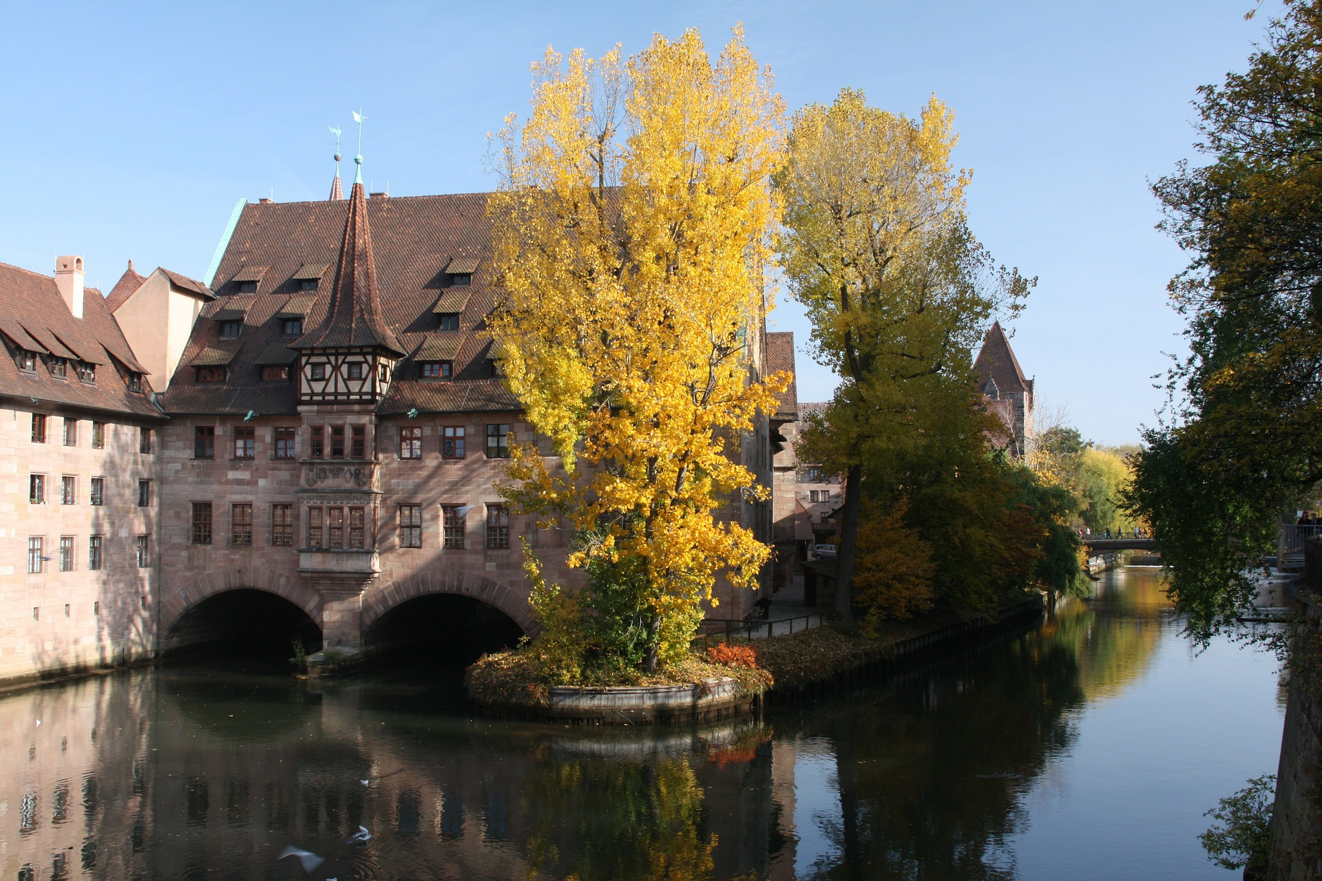 podzim v Norimberku