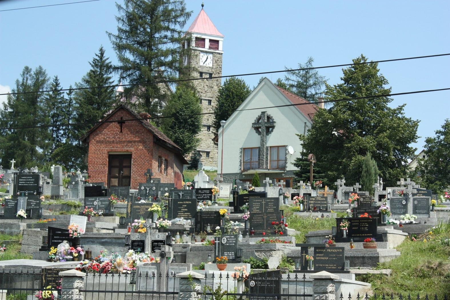 římskokatolický kostel Růžencové Panny Marie (hřbitov)