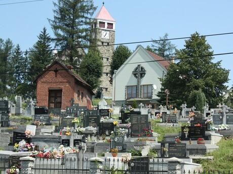 Svrčinovec - rímskokatolícky kostol Ružencovej Panny Márie (cintorín)