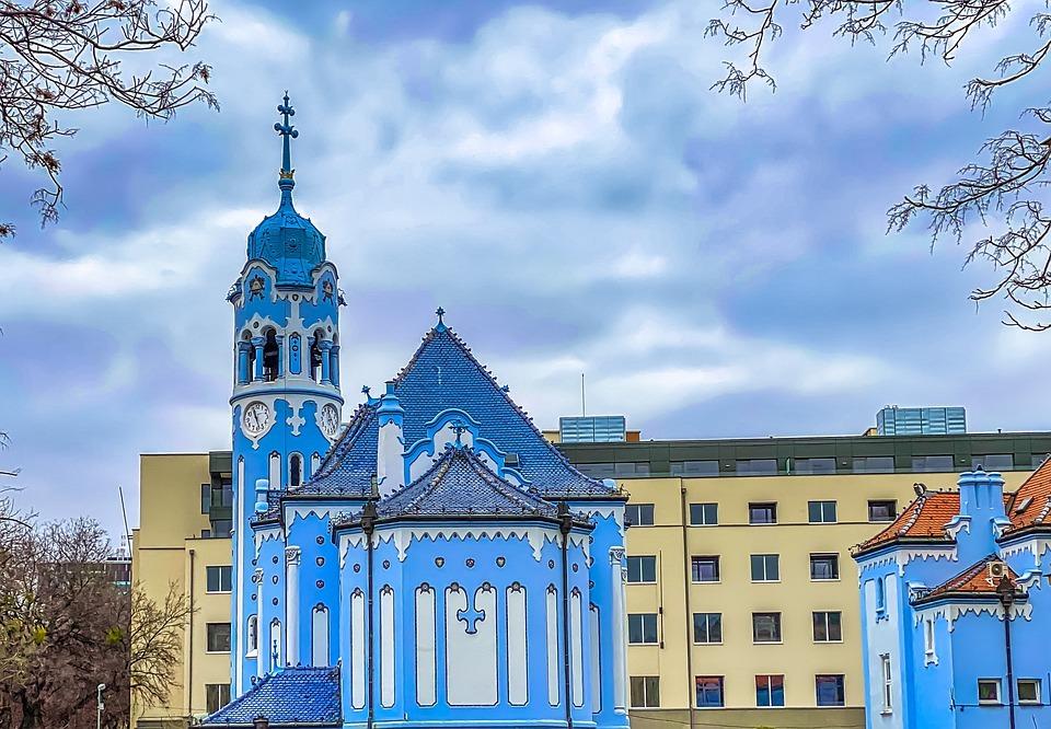Modrý kostelík