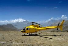 do Muktinathu môžete z hlavného mesta alebo z Pokhary doletieť helikoptérou