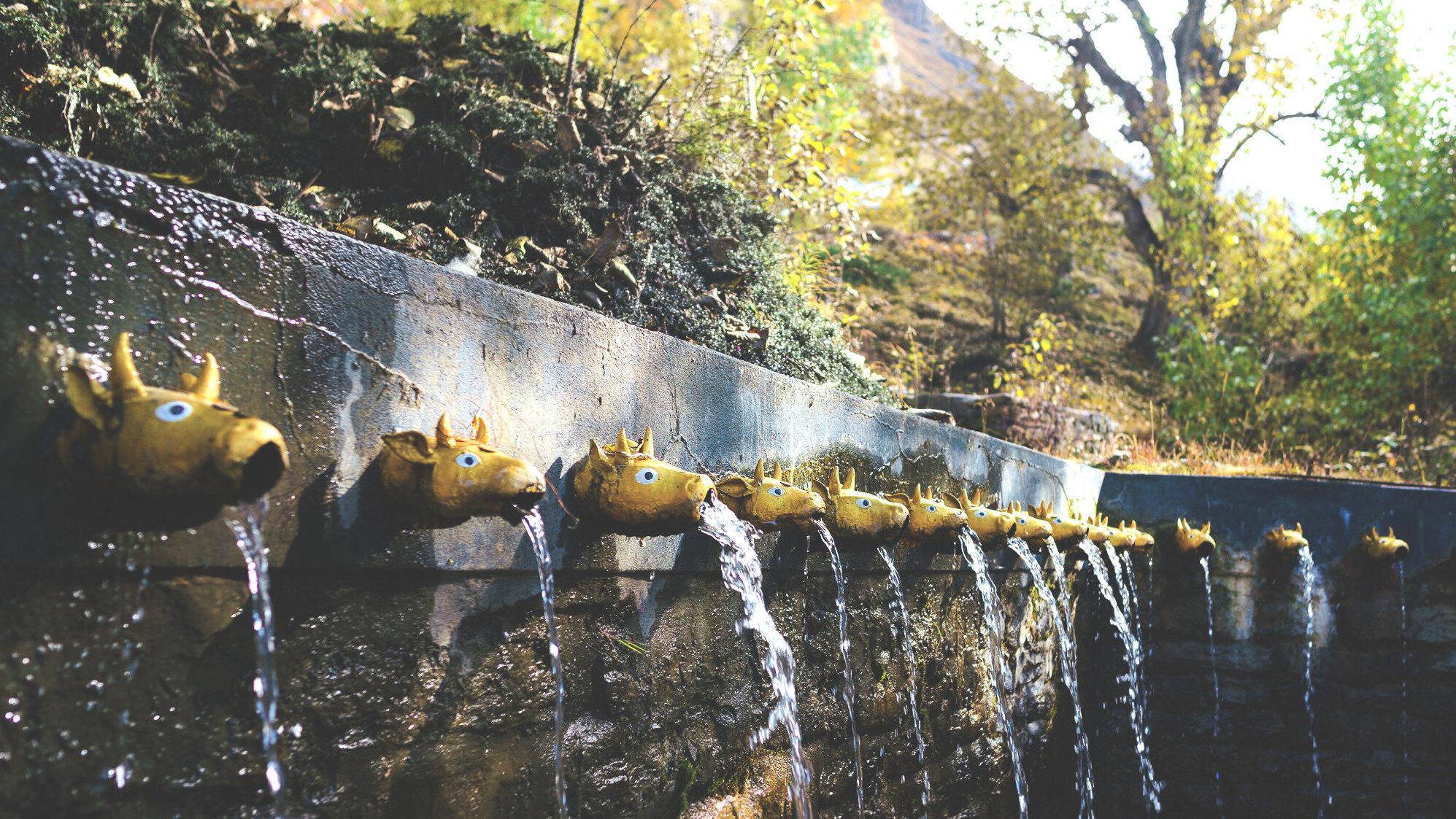 108 vodných kohútikov