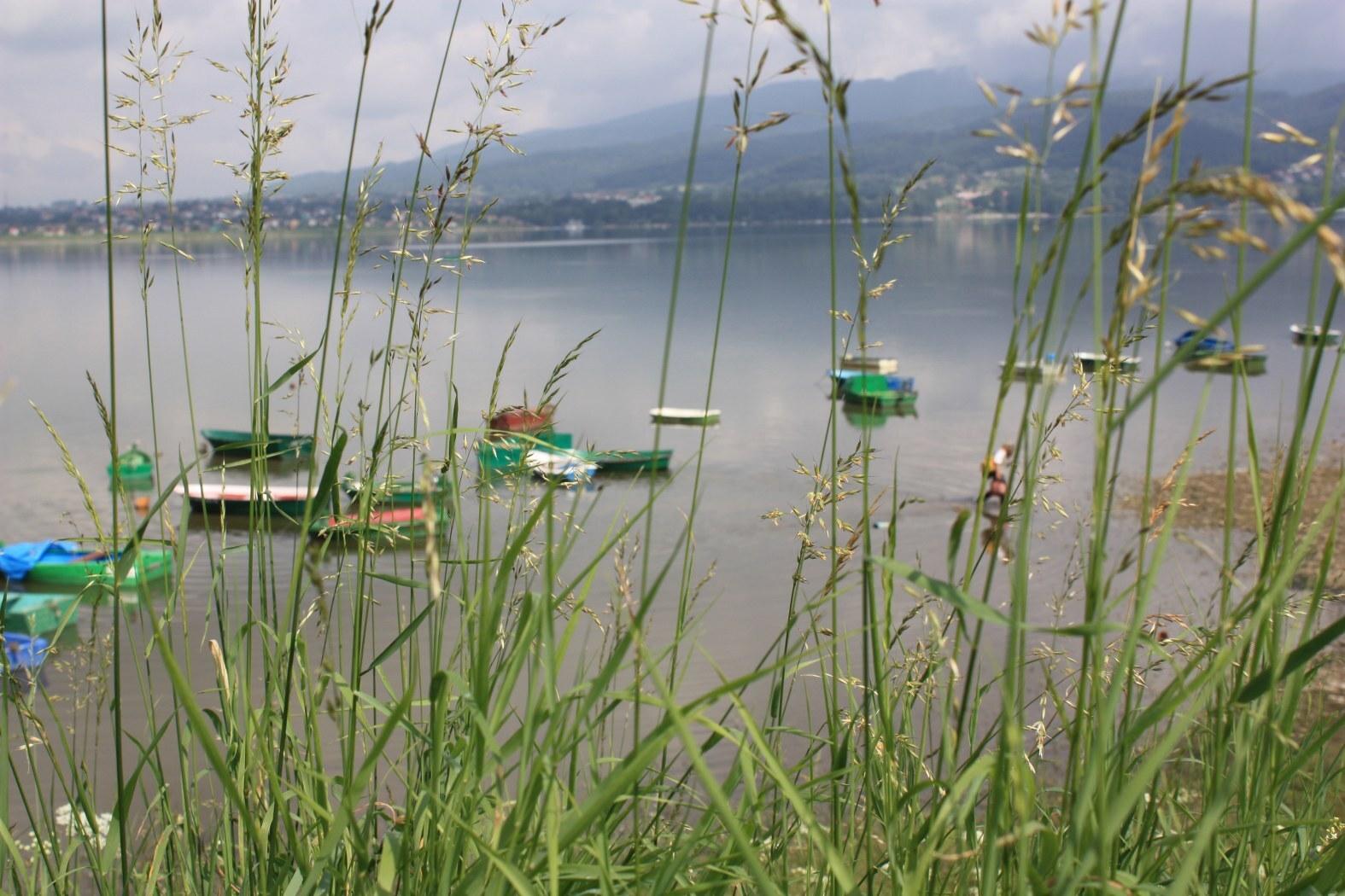 přehrada na jezeře Żywieckie