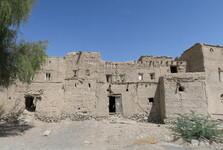 rozpadlé domy v Misfatu