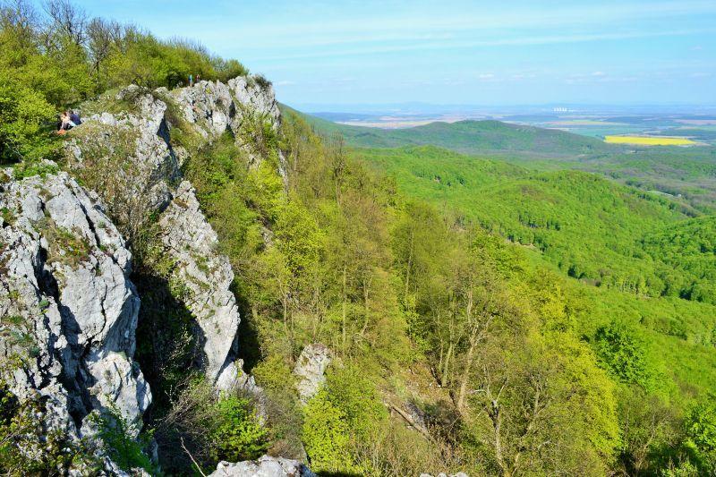 pohled na Malé Karpaty