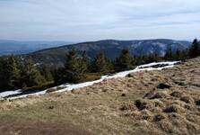 na vrcholu hory Králický Sněžník