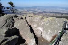 na vrcholu Klepáče