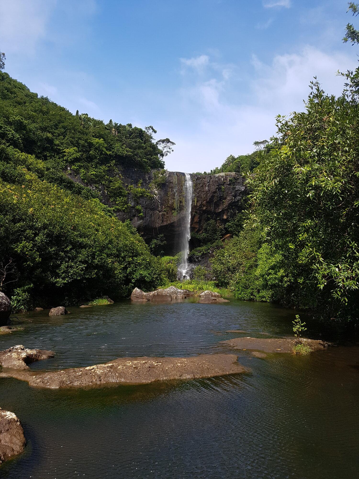 nádherné vodopády