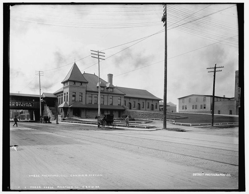 Рокфорд около 1890 года