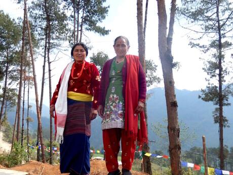 ženy etnika Tamang