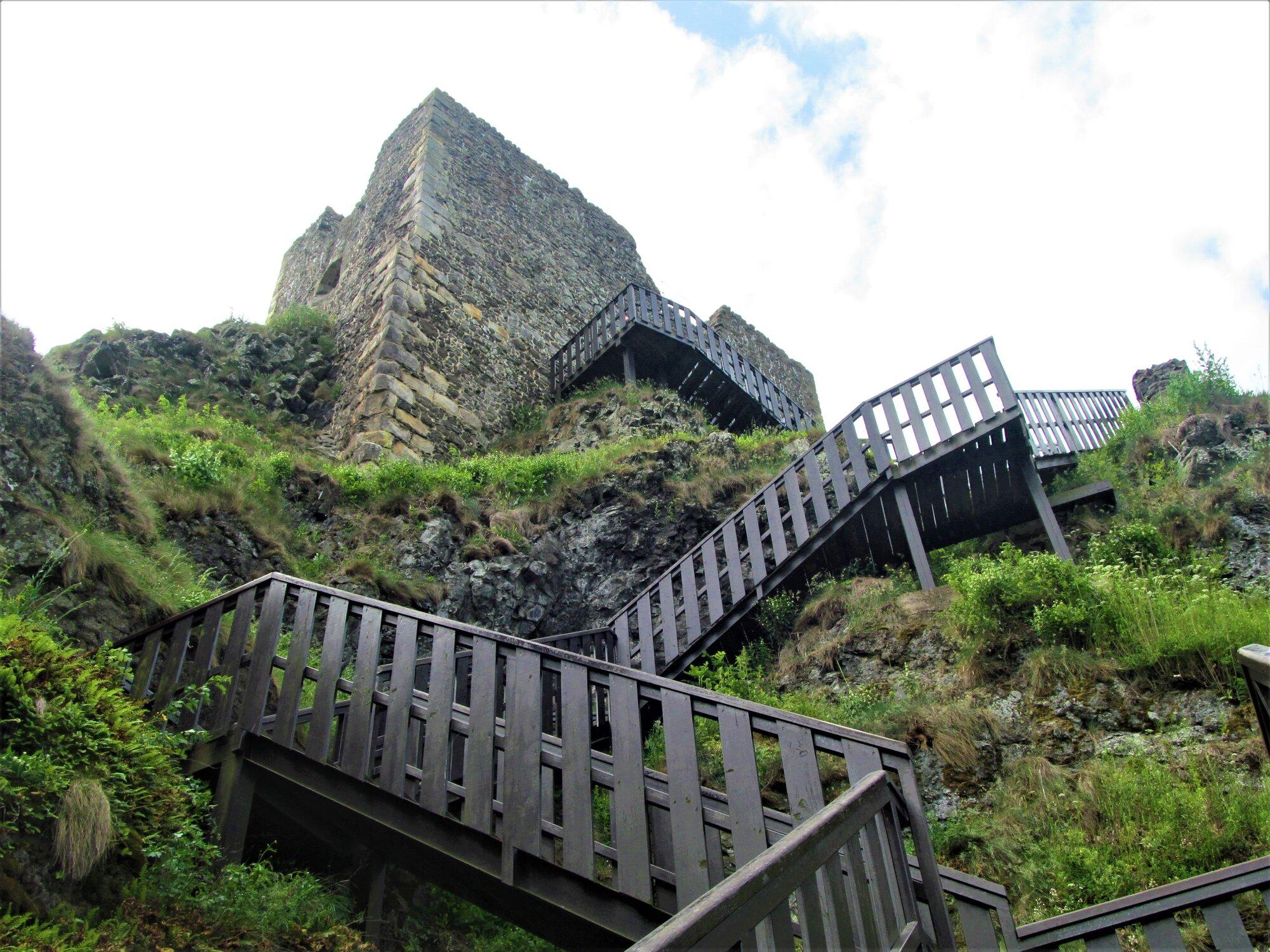 schodiště k Babě