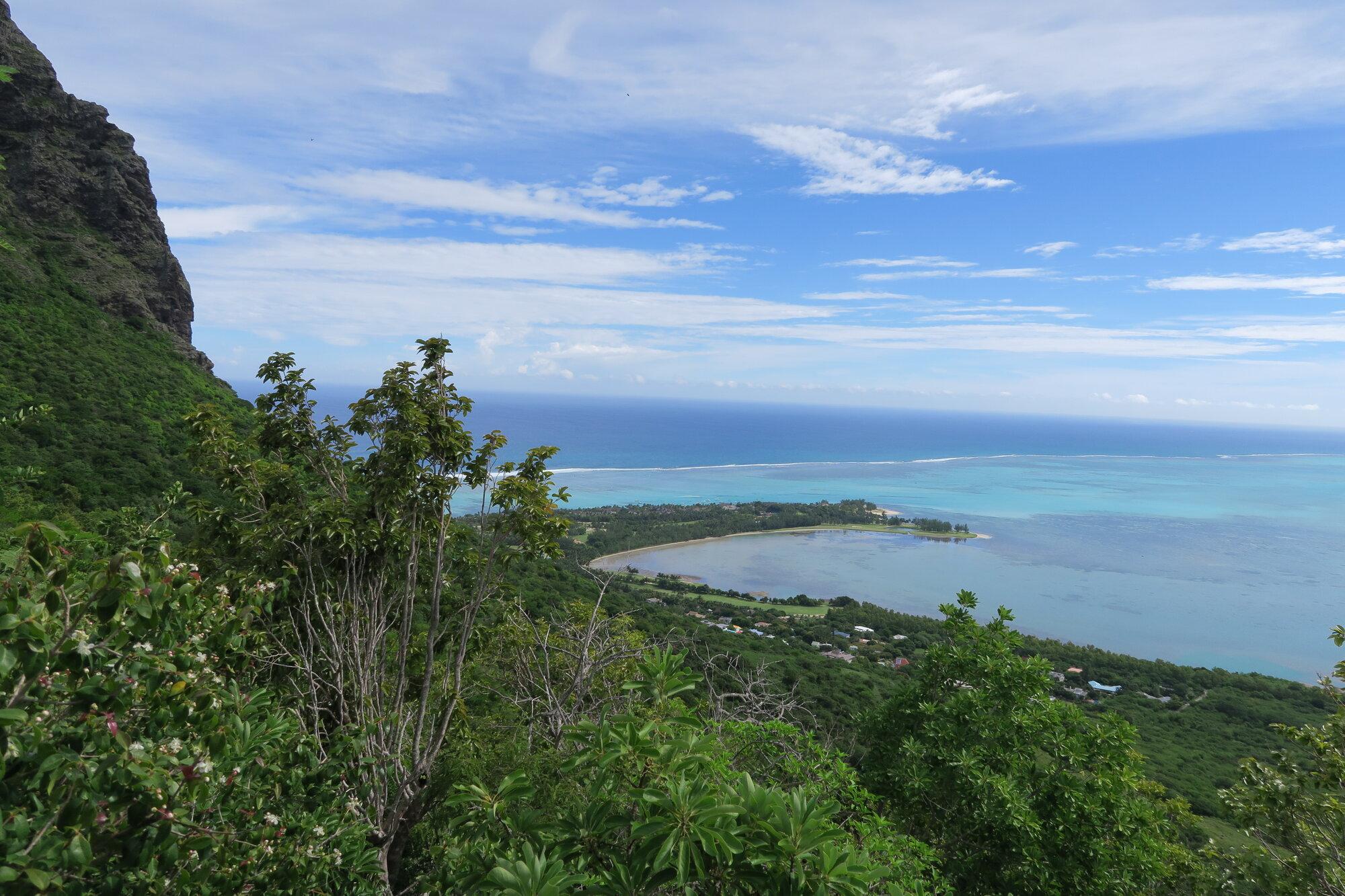 výhled z Le Morne