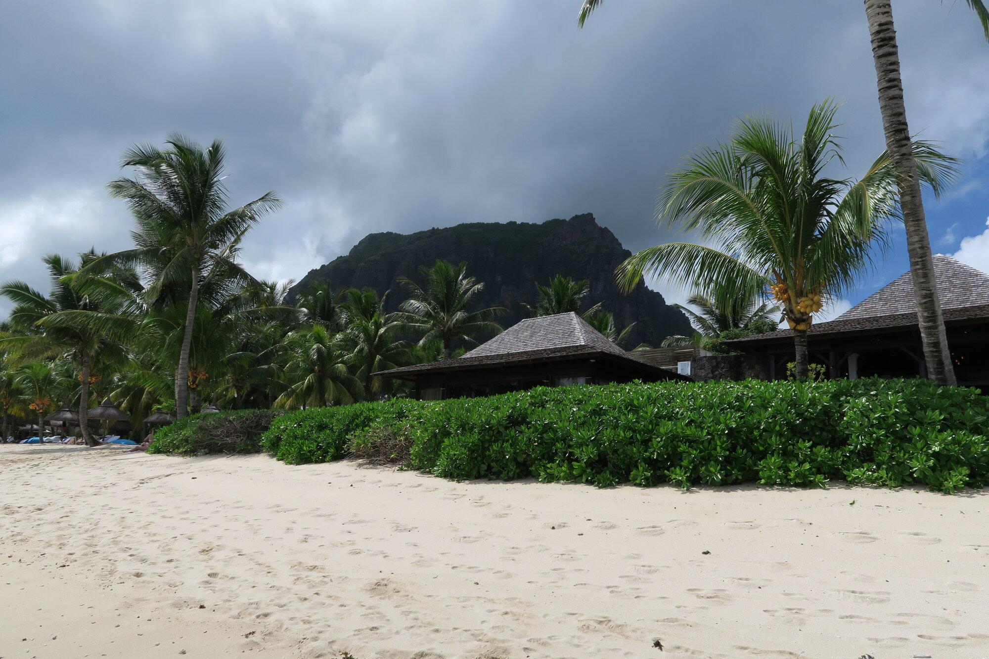 pláž pod Le Morne