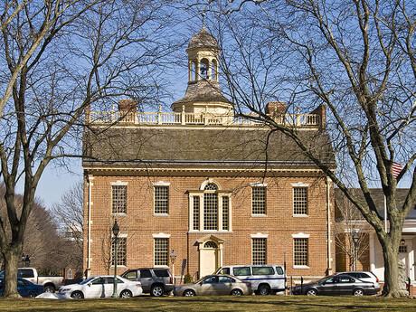 historické domy v Delaware