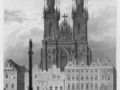 Pražský mariánsky stĺp, Karl Herlossohn, wikipedia.org