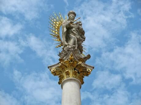 Mariánsky stĺp - ilustračné foto, pixabay.com