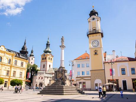 Mariánsky stĺp, Banská Bystrica