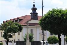mariánský sloup, Brezno; (c) Mgr. Anna Nociarová
