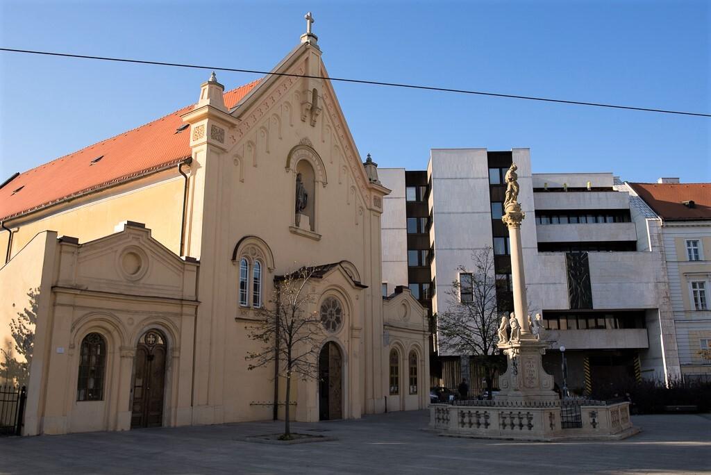 mariánský morový sloup, Bratislava