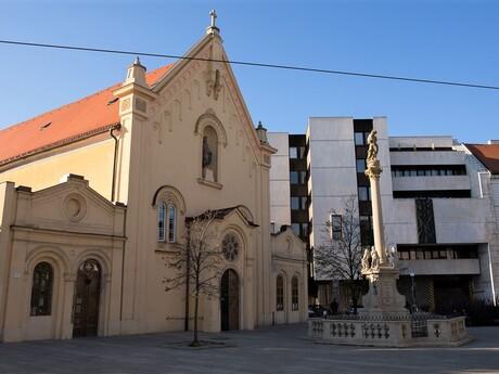 Mariánsky morový stĺp, Bratislava