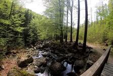cestou na Hájený vodopád