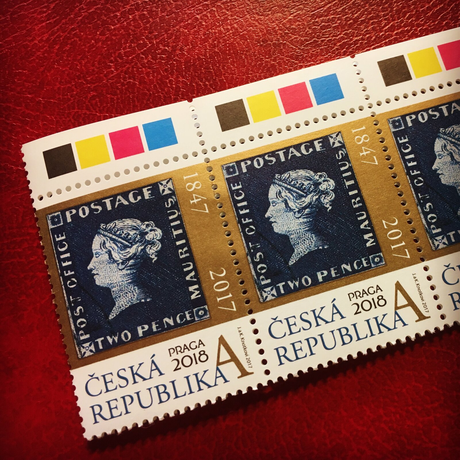 марка, выпущенная Чешской Почтой