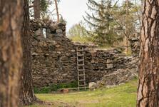 zřícenina hradu Mitrov