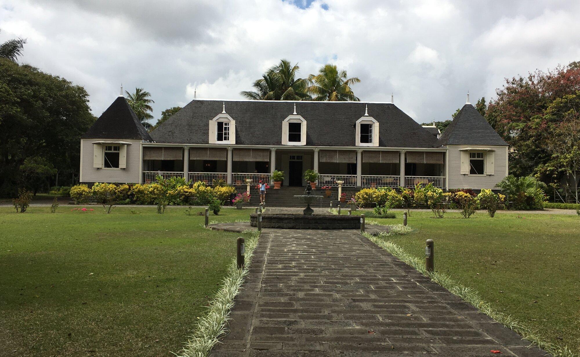 koloniální dům