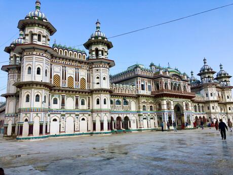 chrám Janaki Mandir, najväčší nepálsky chrám