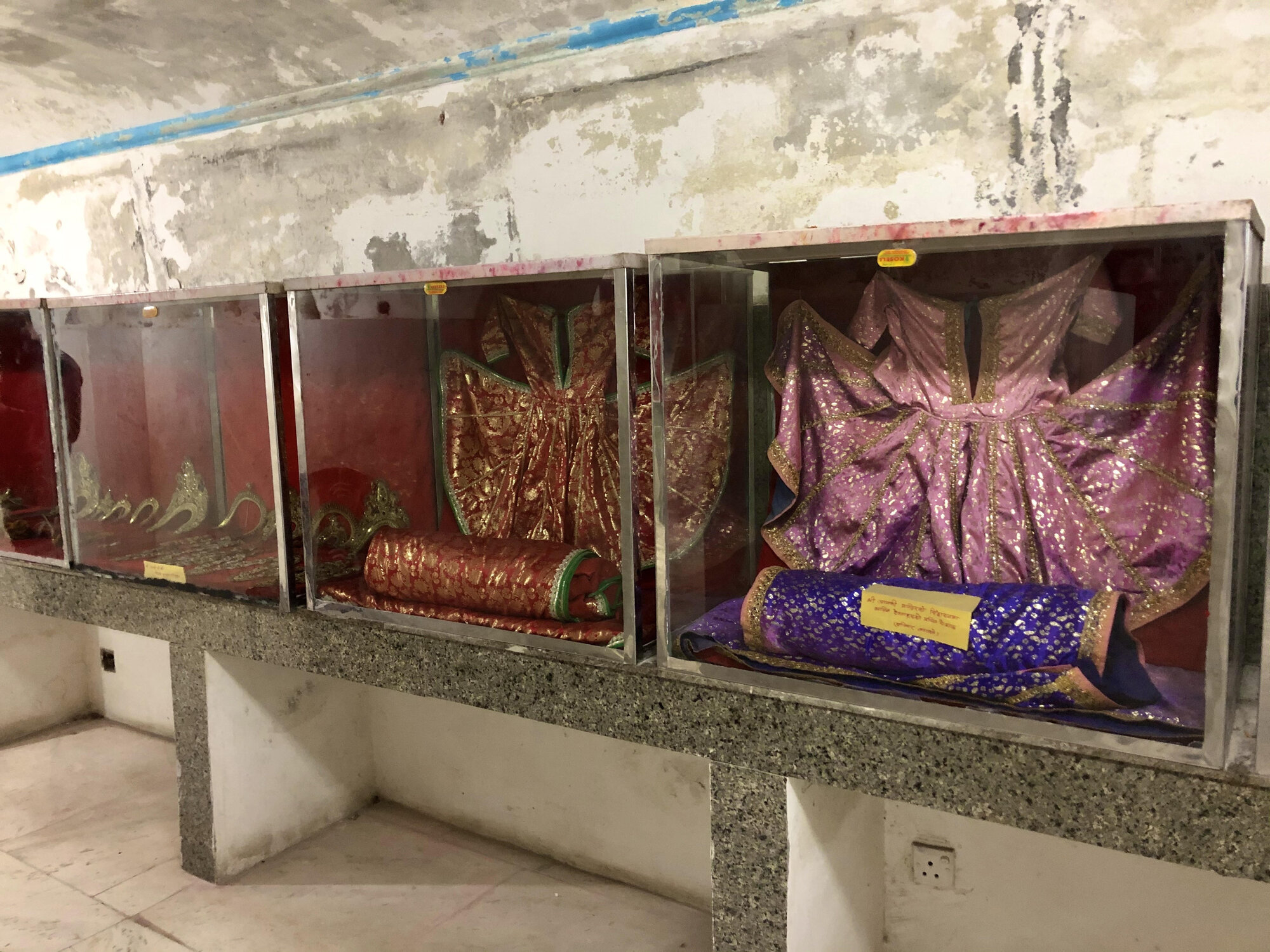частью храма является также музей