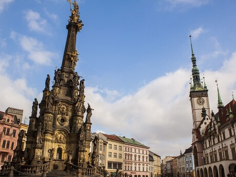 stĺp Najsvätejšej Trojice, Olomouc