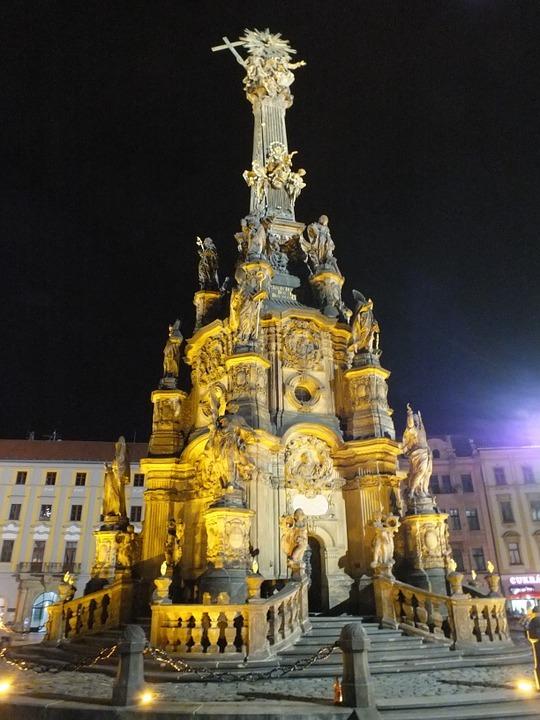 trojiční sloup v Olomouci