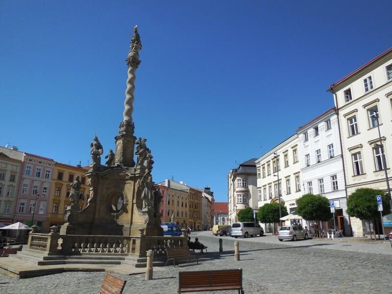 mariánsky sloup v Olomouci