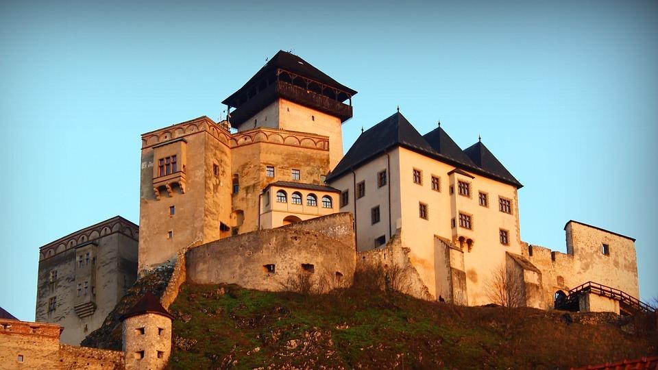 Trenčínský hrad, Pixabay