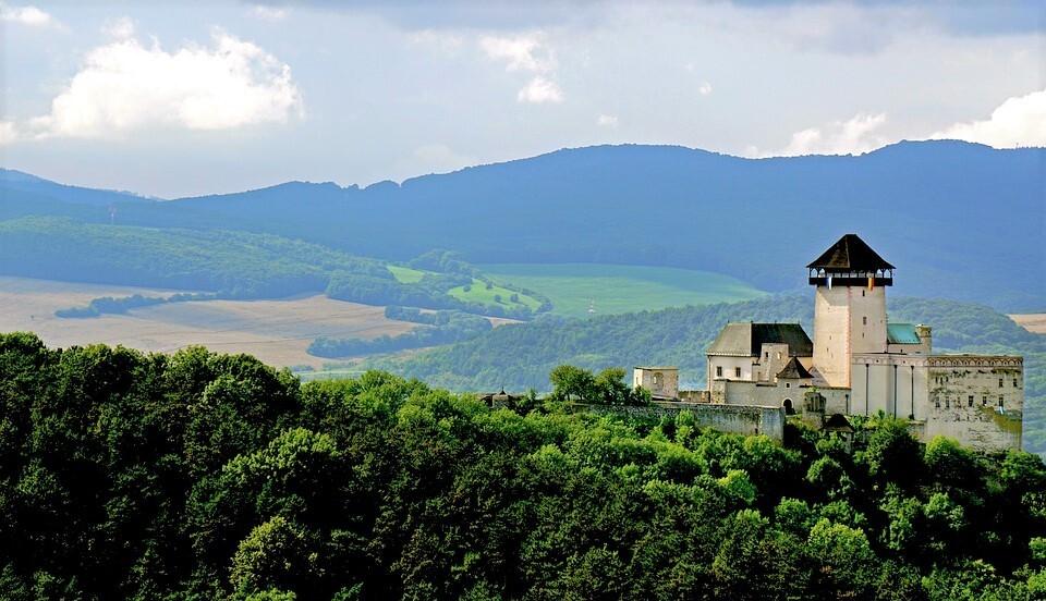 Trenčínský hrad a okolí,  Pixabay