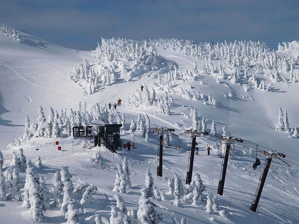 lyžařská oblast Eaglecrest Ski Area